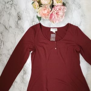 Chadwicks Real Comfort Maxi Dress. Long Sleeves